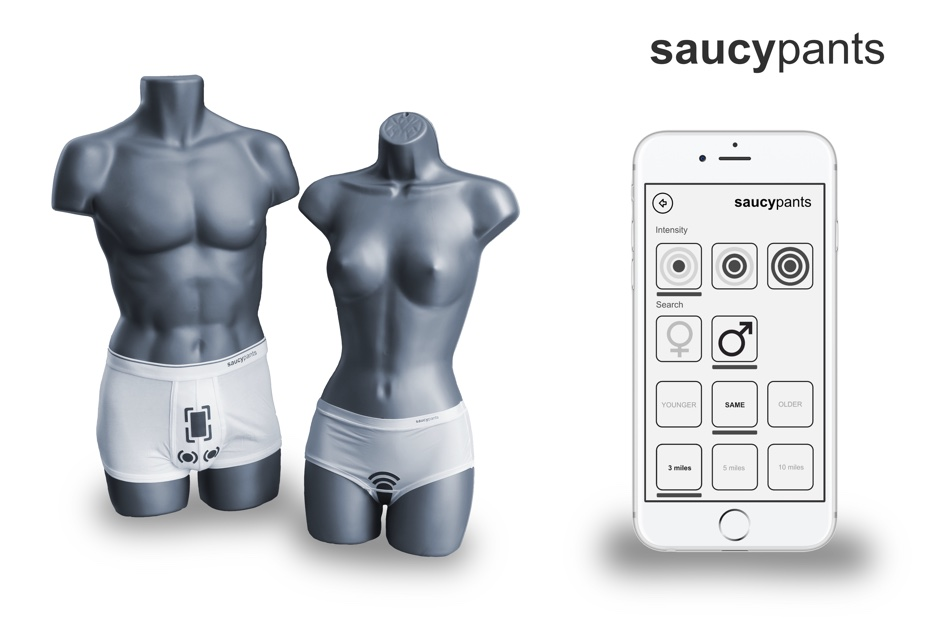 saucypants wearable tech for dating